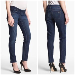 DL1961 Angel Maternity Mid Rise Skinny Ankle Jeans